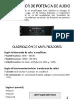 Amplificador de Potencia de Audio