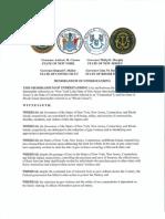 """""""STATES FOR GUN SAFETY"""" Memorandum of Understanding"""