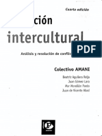 Educacion Intercultural Analisis y Resolucion de Conflictos