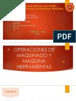 Operaciones de Maquinado y Maquina Herramientas - Procesos Industriales