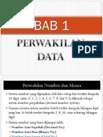 Bab 1 Perwakilan Data
