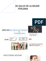 Estado de Salud de La Mujer Peruana