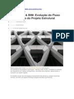 2017 Estruturas _ BIM - Evolução Do Fluxo de Trabalho Do Projeto Estrutural