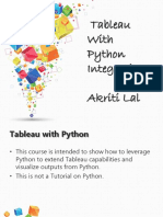 1-Tableau With Python