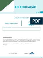 Caderno de Teste de Língua Portuguesa – Ensino Fundamental 1 - p0517
