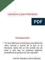 Literatura y Para-literatura