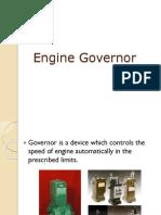 Engine Governor