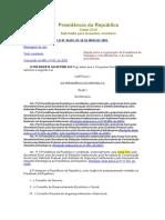 Administração Federal - Lei 10683_2003 - Organização Da Presidência República e Dos Ministérios