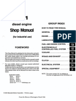 Mitsubishi 6d14!15!16 Workshop Manual 335 Pages