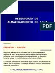 ALMACENAMIENTO -RESERVORIO