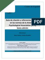 Sánchez, S. & Hernández, M. - Guía de Citación y Referencias Con Base en Las Normas APA