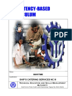 Cbc Ships Catering Services Nc III