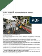 El Corte 'Indefinido' de Agua Afectó a Más Zonas de Guayaquil _ Comunidad _ Guayaquil _ El Universo