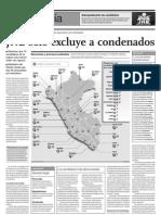 9 Sep- El Comercio, JNE Candidatos Con Orden de Detencion
