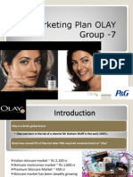 Marketing Plan Olay