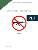 Gun Control USA