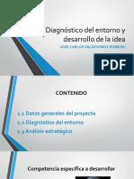 PROYECTOS Diagnóstico Entorno y Desarrollo Idea