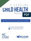 North Carolina Child Health Report Card