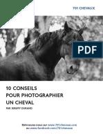 701 Chevaux - 10 Conseils Pour Photographier Un Cheval