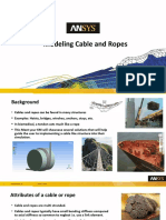 Modelling Cables and Ropes