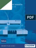 diasorin liaison manual del usuario 2.30 ES 02