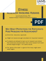 ethics-research involving humans lgg