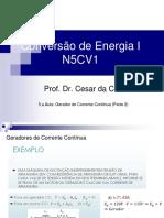 5.a Aula_N5CV1_Gerador de Corrente Continua (Parte 2)