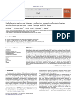1.  Fuel Characterization and Biomass Combustion Properties of Selected Native Woody Shrub Species From Central Portugal and NW Spain