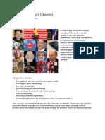 Onderzoek en Ideeën Toelating