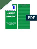 Tarjeta de Andamio