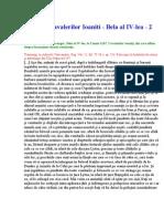 01.Diploma Cavalerilor Ioaniti - Bela Al IV-Lea - 1247