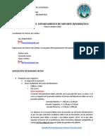 Reglamento DSI 1er Sem 2018