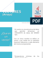 Java (10) Vectores