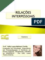 Slides Relacoes Interpessoais