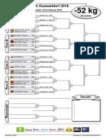 grand slam duesseldorf 2018 - contest sheet