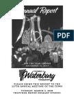 Waterbury Town Report 2017