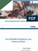 Sensor Fundamentals Load Pressure Torque