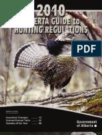 Hunting Regs 2010