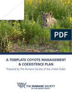 HSUS Preventing Coyote Conflicts