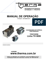 Manual Th 8000