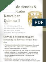 Actividad de Laboratorio Solubilidad y Conductividad de Las Sales (1)