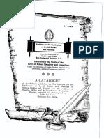 HebrewBooks Catalogue