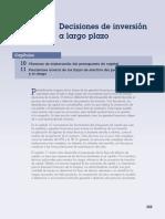 Decisiones de Inversión a Largo Plazo