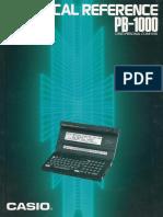 Casio PB-1000 Technical reference.pdf