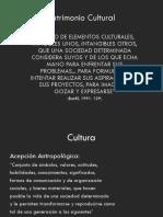 Cultura y Patrimonio Definiciones