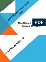 Droit Des Affaires 2017 2018 PDF