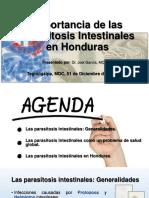 Importancia de Las Parasitosis Intestinales en Honduras