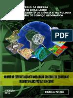 Norma Brasileira de Qualidade de dados de aerolevantamentos