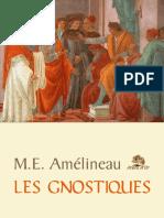 Amélineau Emile Clément - Les Gnostiques