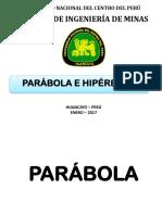 Parábola e Hipérbola